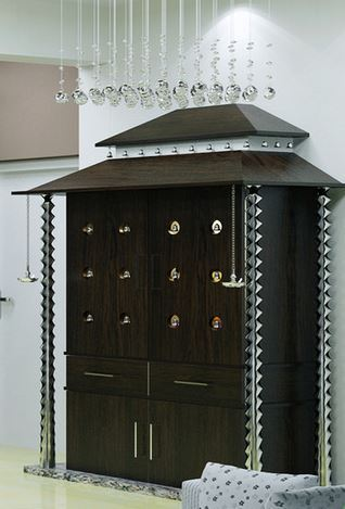 Modular Pooja Cabinet View Specifications Amp Details Of