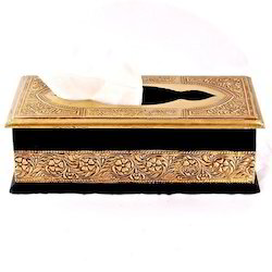 Brass And Wood Box Regal Delight