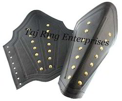 Leather Strip Arm Guard