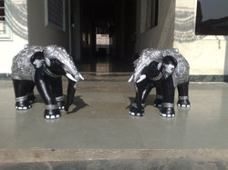 Elephant Pair For Decoration