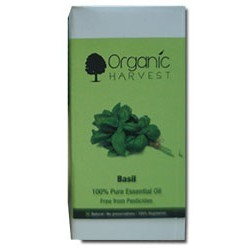 Organic Harvest Basil 100% Pure Essential Oil
