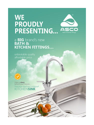 Asco Kitchen Sink & Bathroom Sanitary Ware Manufacturer from Tirur