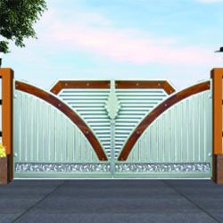 Wood Gate Design Malaysia
