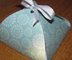 Petal Boxes in Handmade Paper with Custom Prints