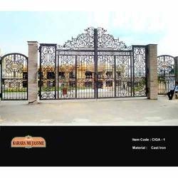 Antique Victoria Cast Iron Gates