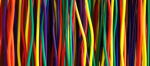 Cable and Wire - Multi Colored Electrical Wire Wholesale Trader from ...