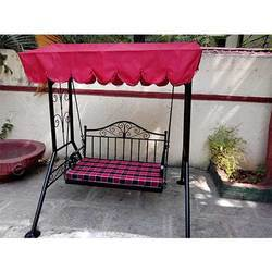 Outdoor Wrought Iron Swing