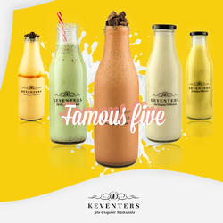 500 Ml Keventers Printed Bottle