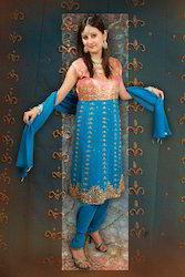 Brocade Anarkali Suit