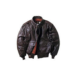 Men Leather Jackets with Elastic Waist