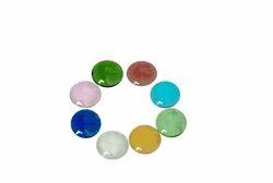 Flat Glass Beads