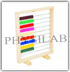 frame abacus wooden