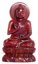 Red Sandalwood Kiran Buddha