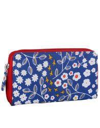 floral printed clutch bag
