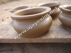 Terracotta Cooking Pot - Before Firing
