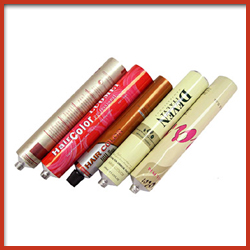 Aluminium Collapsible Tubes for Hair Colours