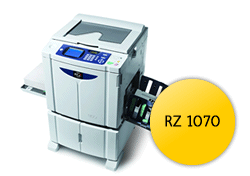 Digital Duplicators RZ 1070/ RZ1070/ 1070 Master Roll