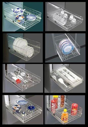Modular Kitchen Baskets Ss Basket Oem Manufacturer From