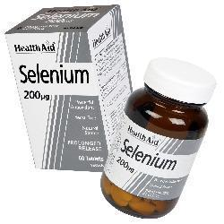 Selenium 200mcg - 60 Tablets
