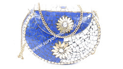 Bags White And Blue Pattern