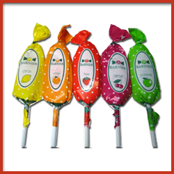 Printed Plastics Twist Wrap Packing Material for Lollipops