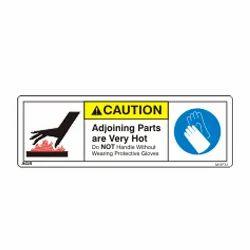 Burn Hazard Warning Sign