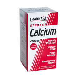 Calcium 600 Mg 60 Chewable Tablets