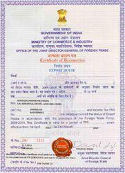 Certificate of Registration