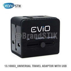 Evio Worldtrek Dual USB World Adapter