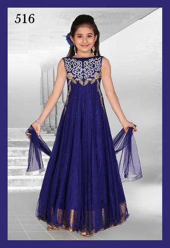 Kids Fashion Gowns - Kids Heavy Gowns Exporter from New Delhi