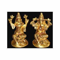 Ganesh Sitting on Rd. Lotus Base