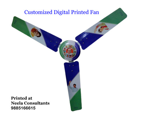 Printed Ceiling Fan Ysrcp Customized Digital Printed