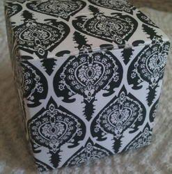 Damask Design Printed Favor Boxes