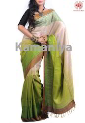 Hand Block Printed Saree