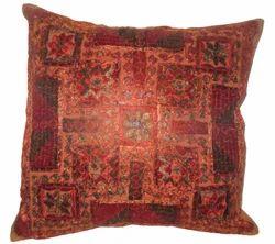 Rana Thread And Mirror Work Cushion Cover