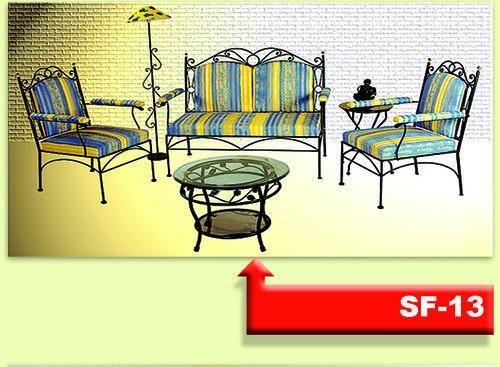 Wrought Iron Sofa Set   Metal Sofa Set 3 1 1 (SF 24) Manufacturer From  Kolkata