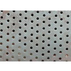 Round Hole Perforated Stainless Steel Sheet