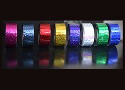 Holographic Colour Glitter Tapes