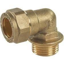 Brass Elbow Male