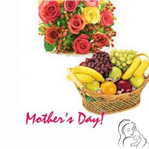 Mother's Day Wishes with Fruits