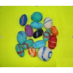 Industrial Felt Pebbles