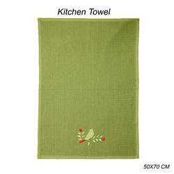 Printed And Embroidery Kitchen Towel