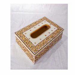 Marble Tissue Paper Box Decorative