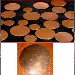 Copper Brass Circles
