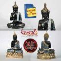 Meditating Poly Resin Buddha Statue - Samadhi