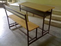 Desk with Three Seater