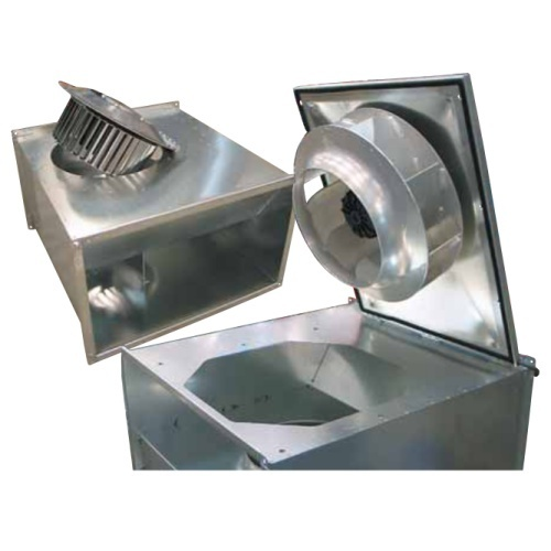 Rectangular Duct Fan : Rectangular in line duct fan exporter from chennai