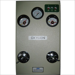 Control Panel Oxygen Dioxide And Nitrous Oxide