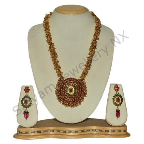 Heavy Golden Necklace Set