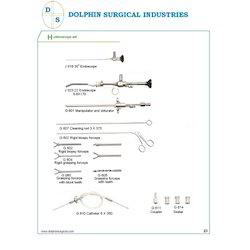 Hysteroscopy Set